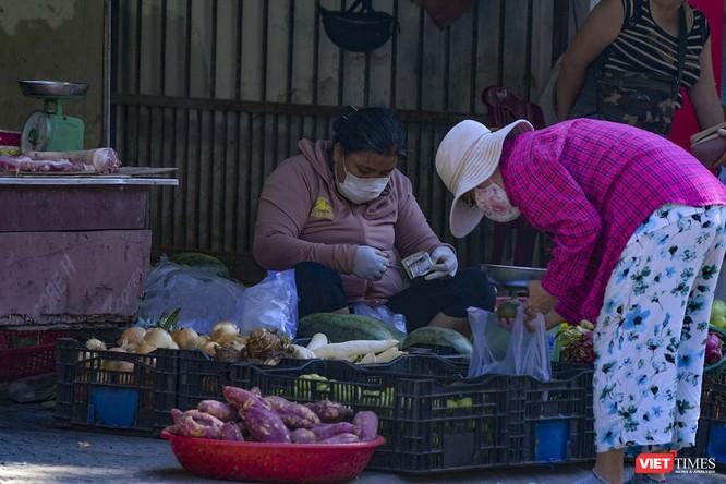 Đà Nẵng: Chợ An Hải Đông đã được dỡ rào chắn phong tỏa ảnh 16