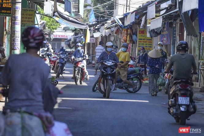 Đà Nẵng: Chợ An Hải Đông đã được dỡ rào chắn phong tỏa ảnh 9
