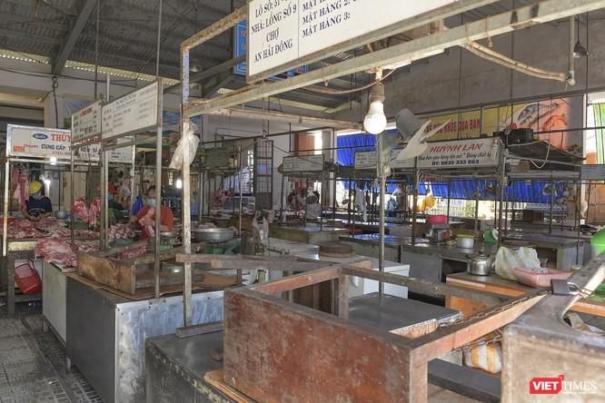 Đà Nẵng: Chợ An Hải Đông đã được dỡ rào chắn phong tỏa ảnh 13