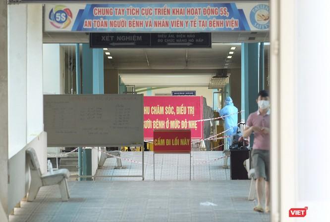 Đà Nẵng bắt đầu xây dựng bệnh viện dã chiến tại cung thể thao Tiên Sơn ảnh 3