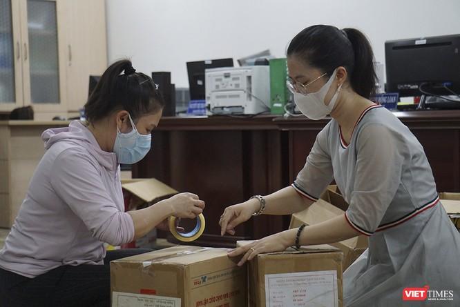 Đà Nẵng bắt đầu xây dựng bệnh viện dã chiến tại cung thể thao Tiên Sơn ảnh 9