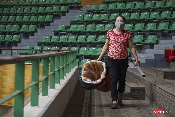 Đà Nẵng bắt đầu xây dựng bệnh viện dã chiến tại cung thể thao Tiên Sơn ảnh 8
