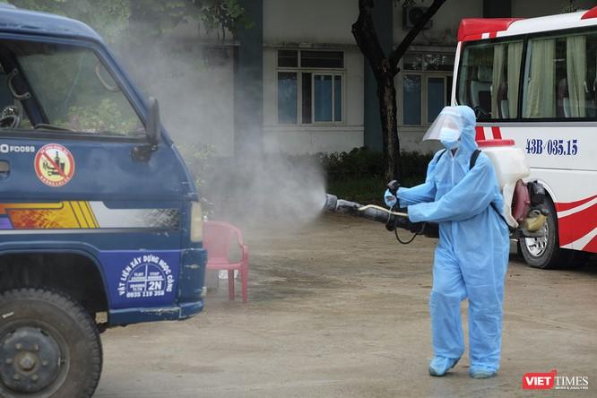 Đà Nẵng bắt đầu xây dựng bệnh viện dã chiến tại cung thể thao Tiên Sơn ảnh 2