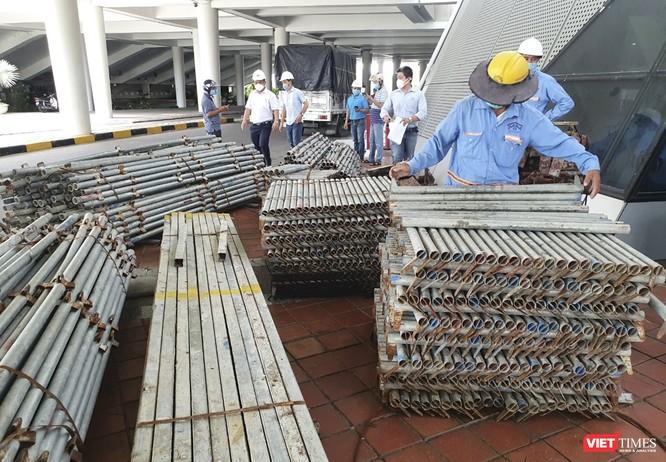 Đà Nẵng bắt đầu xây dựng bệnh viện dã chiến tại cung thể thao Tiên Sơn ảnh 5