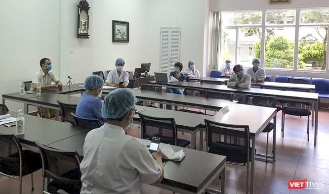 Chuyên gia tâm lý BV Bạch Mai vào hỗ trợ các bác sỹ tuyến đầu chống dịch vượt qua áp lực ảnh 2