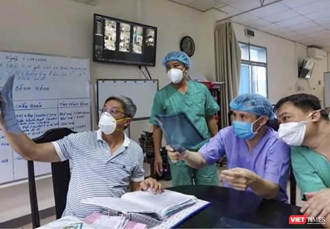 Hai bệnh nặng mắc COVID-19 ở Bệnh viện TƯ Huế đã âm tính với SARS-CoV-2 ảnh 1