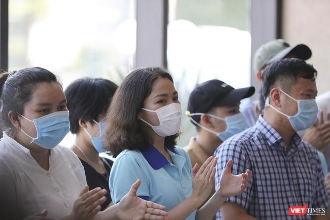 Ảnh: Đoàn bác sỹ tình nguyện Thừa Thiên Huế, Bình Định chia tay Đà Nẵng ảnh 5