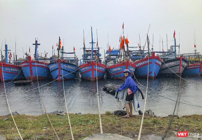 Bão số 5 cận kề, Đà Nẵng khẩn trương đưa tàu thuyền lên bờ tránh trú ảnh 5