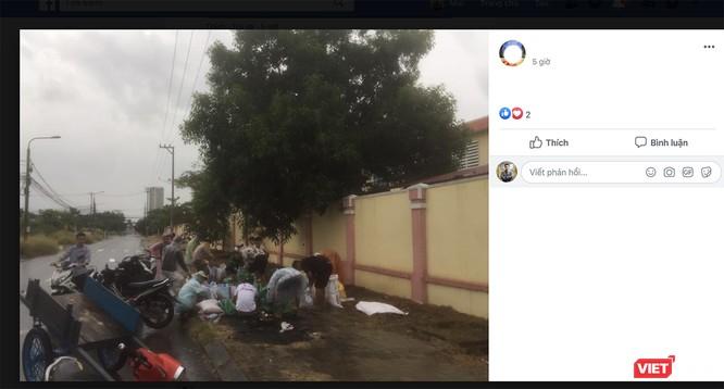 """Chính quyền phường nhận """"mưa tim"""" vì mua cát cho dân chống bão số 5 ảnh 2"""