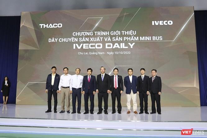 Thaco ra mắt dây chuyền sản xuất và sản phẩm Mini Bus Iveco Daily ảnh 1