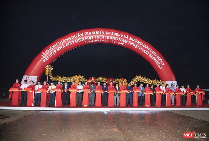 Ninh Thuận: Khánh thành Nhà máy điện mặt trời lớn nhất Đông Nam Á ảnh 1