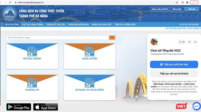 Đà Nẵng đứng đầu bảng xếp hạng tích hợp dịch vụ công trực tuyến lên Cổng quốc gia ảnh 1