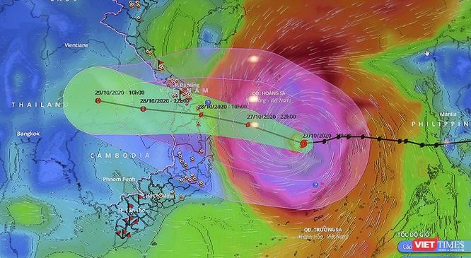 Dự báo: Siêu bão số 9 đổ vào, biển Mỹ Khê, Hội An sẽ ngập sâu đến 2m ảnh 1