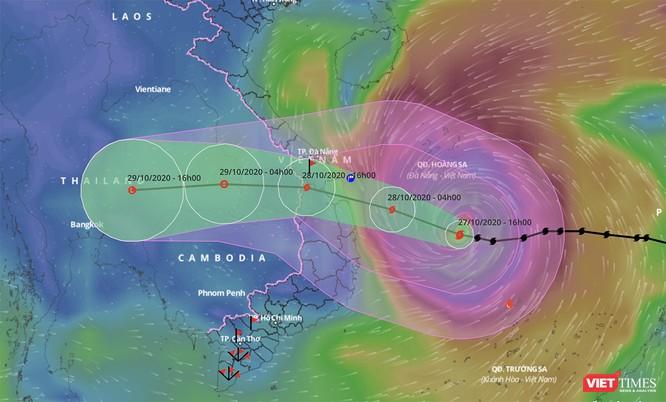 Từ Đà Nẵng, Bộ trưởng Nguyễn Xuân Cường lý giải sức mạnh khủng khiếp của siêu bão số 9 ảnh 1