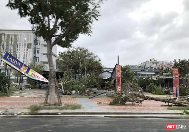 """Đà Nẵng như bãi chiến trường sau trận """"càn quét"""" của siêu bão số 9 ảnh 5"""