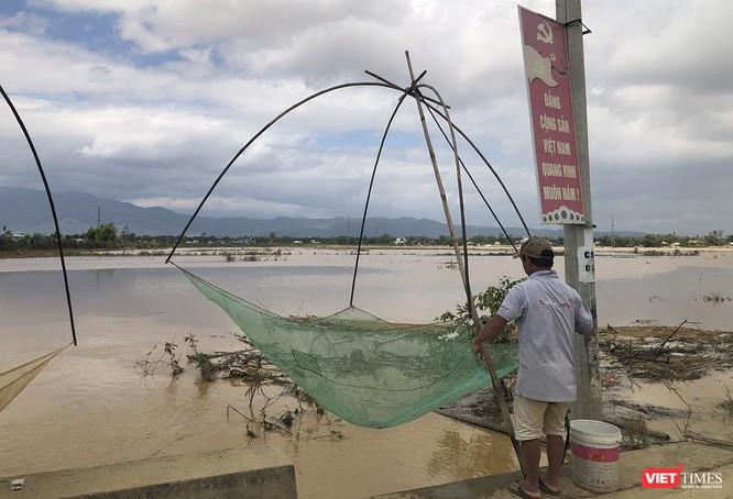 Quảng Nam: Thủy điện Đắk Mi 4 xả lũ, hạ du sông Vu Gia chìm trong nước ảnh 14