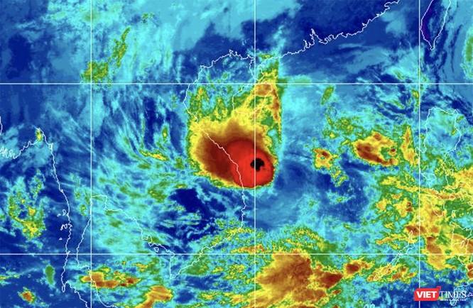 Cảnh báo lũ trên các sông từ Quảng Nam đến Bình Định do ảnh hưởng bão số 10 ảnh 1