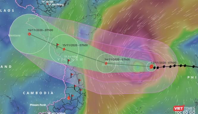 Ứng phó với bão số 13, Đà Nẵng yêu cầu di dời dân trước 11h ngày 14/11 ảnh 1