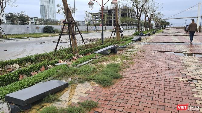 Đà Nẵng ngổn ngang sau khi bão số 13 lướt qua ảnh 13