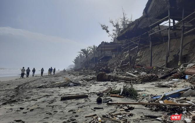 Hậu bão số 13, bãi biển du lịch An Bàng (Hội An) tan hoang ảnh 5