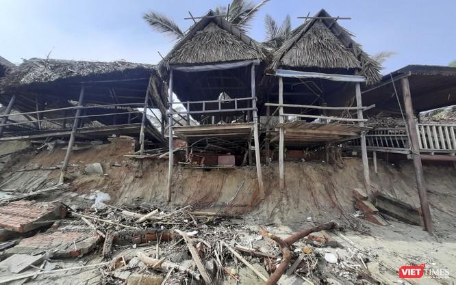 Hậu bão số 13, bãi biển du lịch An Bàng (Hội An) tan hoang ảnh 11