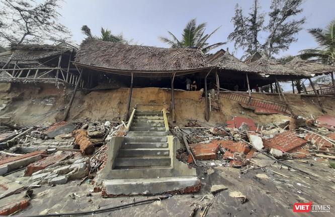 Hậu bão số 13, bãi biển du lịch An Bàng (Hội An) tan hoang ảnh 10