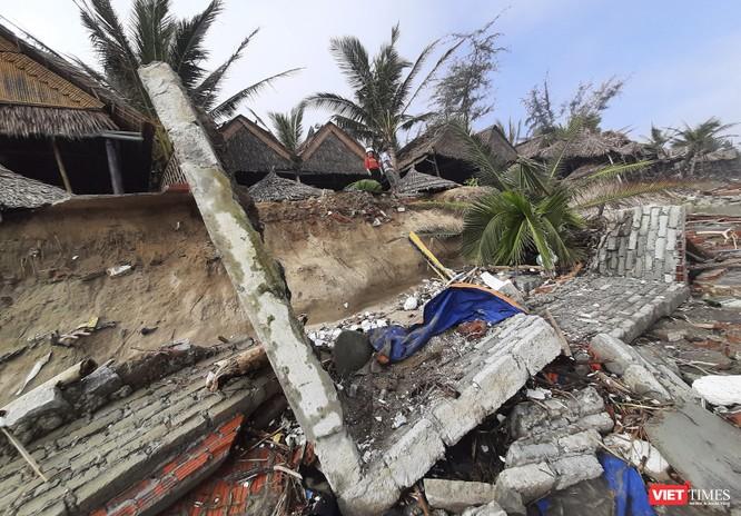 Hậu bão số 13, bãi biển du lịch An Bàng (Hội An) tan hoang ảnh 7