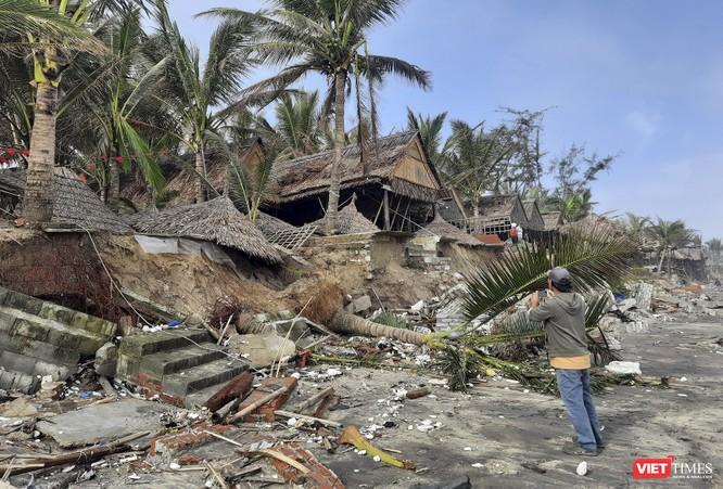 Hậu bão số 13, bãi biển du lịch An Bàng (Hội An) tan hoang ảnh 8