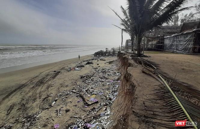 Hậu bão số 13, bãi biển du lịch An Bàng (Hội An) tan hoang ảnh 19