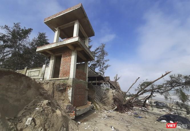 Hậu bão số 13, bãi biển du lịch An Bàng (Hội An) tan hoang ảnh 21