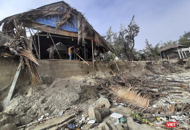 Hậu bão số 13, bãi biển du lịch An Bàng (Hội An) tan hoang ảnh 23