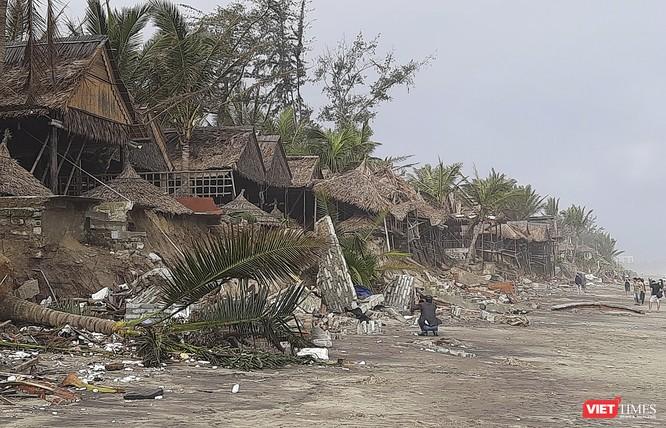 Hậu bão số 13, bãi biển du lịch An Bàng (Hội An) tan hoang ảnh 24