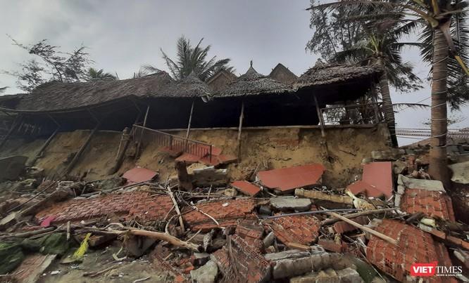 Hậu bão số 13, bãi biển du lịch An Bàng (Hội An) tan hoang ảnh 14