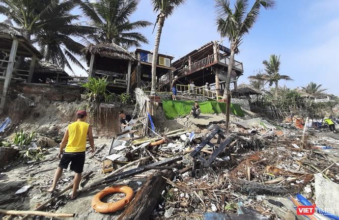 Hậu bão số 13, bãi biển du lịch An Bàng (Hội An) tan hoang ảnh 2