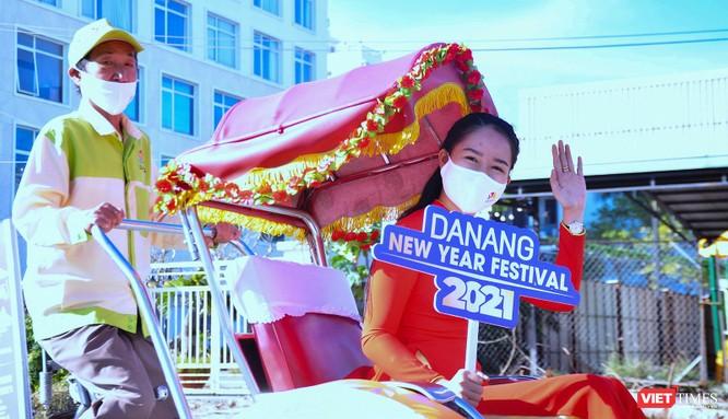 """Đà Nẵng: Diễu hành xích lô du lịch """"Chào Năm mới 2021"""" ảnh 3"""