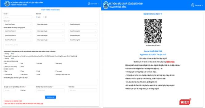 Đà Nẵng đưa ứng dụng khai báo online ra/vào TP để phòng COVID-19 ảnh 1