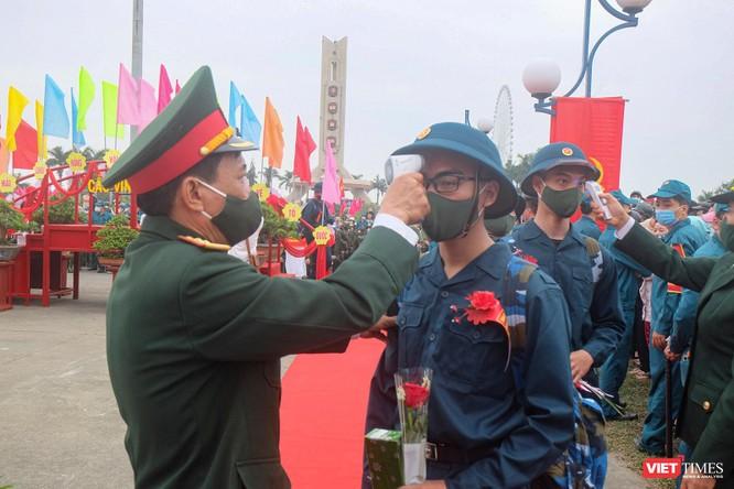 Ảnh: Hơn 1.200 tân binh ở Đà Nẵng lên đường nhập ngũ ảnh 12