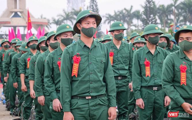 Ảnh: Hơn 1.200 tân binh ở Đà Nẵng lên đường nhập ngũ ảnh 5