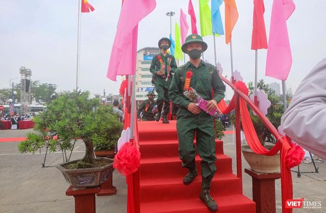 Ảnh: Hơn 1.200 tân binh ở Đà Nẵng lên đường nhập ngũ ảnh 10