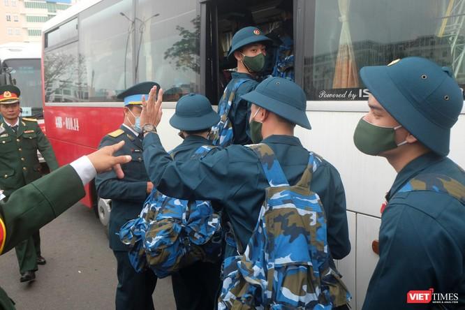 Ảnh: Hơn 1.200 tân binh ở Đà Nẵng lên đường nhập ngũ ảnh 15