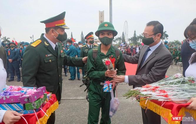 Ảnh: Hơn 1.200 tân binh ở Đà Nẵng lên đường nhập ngũ ảnh 8