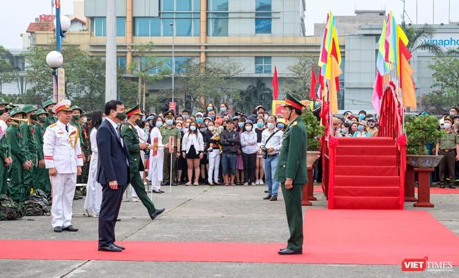 Ảnh: Hơn 1.200 tân binh ở Đà Nẵng lên đường nhập ngũ ảnh 1