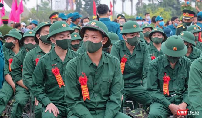 Ảnh: Hơn 1.200 tân binh ở Đà Nẵng lên đường nhập ngũ ảnh 3