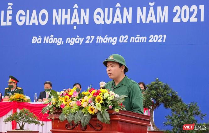 Ảnh: Hơn 1.200 tân binh ở Đà Nẵng lên đường nhập ngũ ảnh 6
