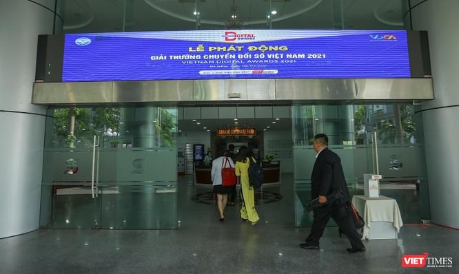 Chùm ảnh Lễ phát động Giải thưởng Chuyển đổi số Việt Nam năm 2021 tại Đà Nẵng ảnh 1