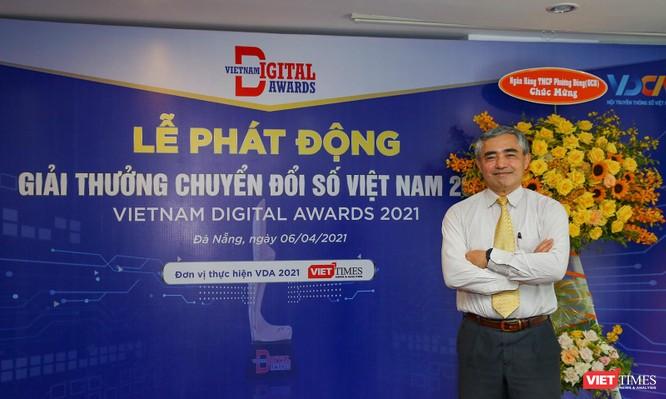 Chùm ảnh Lễ phát động Giải thưởng Chuyển đổi số Việt Nam năm 2021 tại Đà Nẵng ảnh 19