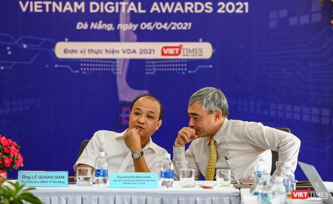 Chùm ảnh Lễ phát động Giải thưởng Chuyển đổi số Việt Nam năm 2021 tại Đà Nẵng ảnh 20