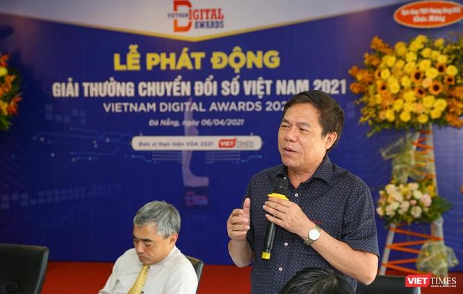 Chùm ảnh Lễ phát động Giải thưởng Chuyển đổi số Việt Nam năm 2021 tại Đà Nẵng ảnh 29