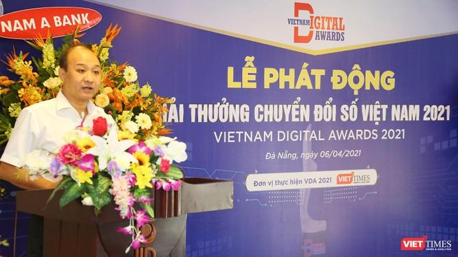 Chùm ảnh Lễ phát động Giải thưởng Chuyển đổi số Việt Nam năm 2021 tại Đà Nẵng ảnh 13