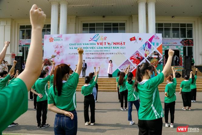 Toàn cảnh lễ hội giao lưu văn hóa Việt – Nhật và Ngày hội việc làm Nhật Bản 2021 tại Đà Nẵng ảnh 5